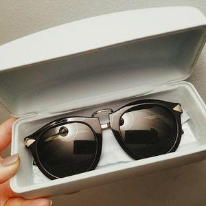 Karen Walker Special Fit Harvest Sunglasses Black